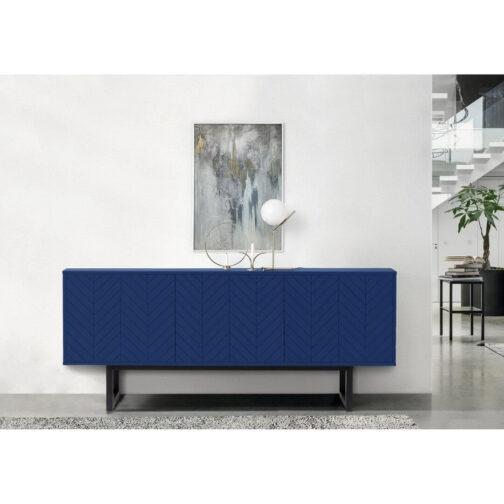 Kumode-Camden-Herringbone-Blue. Kumode. Ziemeļu-akcents Woodman Skandināvu-dizains Igauņu-mēbeles Interjerdizains Скандинавский-дизайн Комод-Camden-Herringbone-Blue.